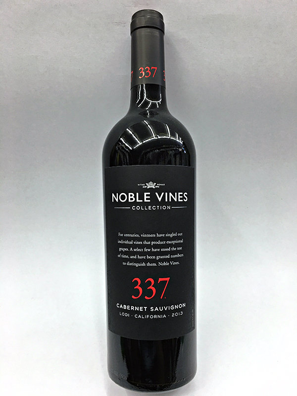Noble Vines 337 Cabernet Sauvignon, Lodi, CA