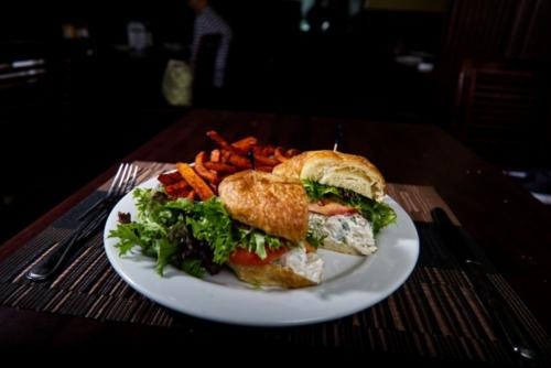 Chicken Salad Crossant
